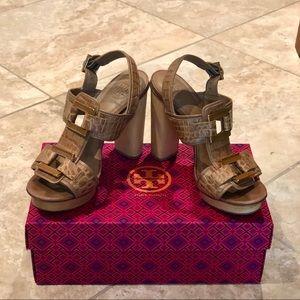 Tory Burch Chunky Platform Sandals